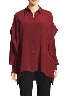 Diane Von Furstenberg Silk Button-Down Shirt