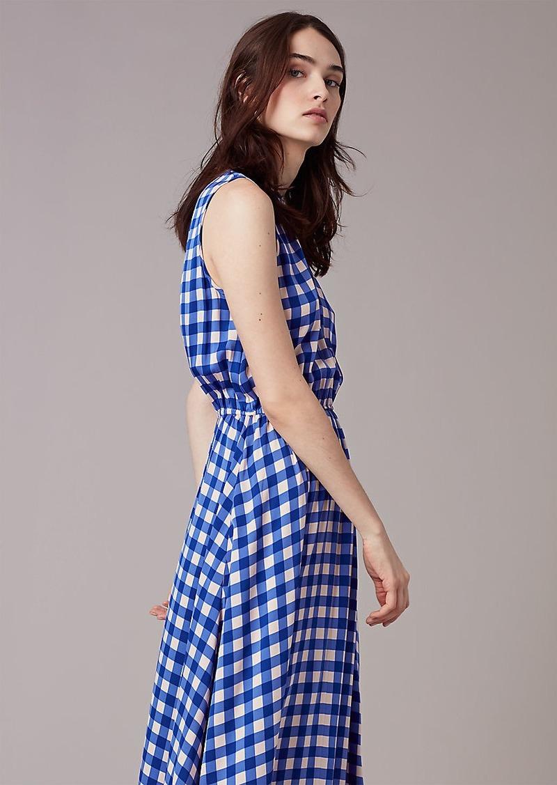 Diane Von Furstenberg Sleeveless Cinch Waist Dress