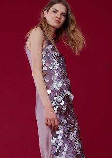 Sleeveless Embellished Midi Dress