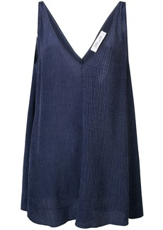 Diane Von Furstenberg sleeveless flared top