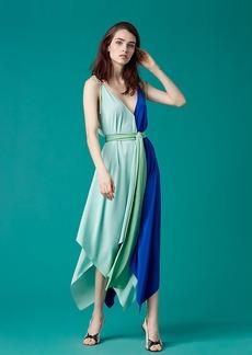 Sleeveless Scarf Dress