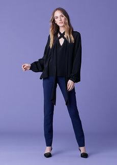 Diane Von Furstenberg Jessamine Silk Top