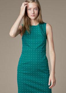 Sleeveless Tailored Dress