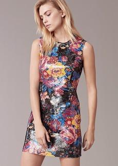 Sleeveless Tailored Mini Dress