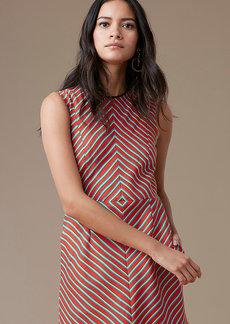 Sleeveless Tailored Shift Dress