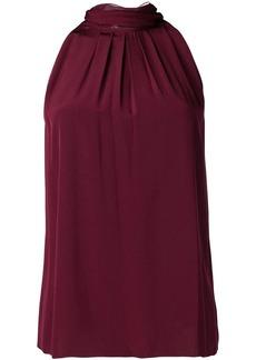 Diane Von Furstenberg sleeveless high-neck blouse