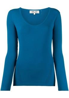 Diane Von Furstenberg slim-fit knit jumper