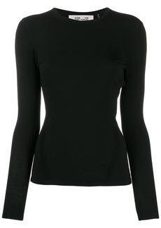 Diane Von Furstenberg slim-fit long-sleeve T-shirt