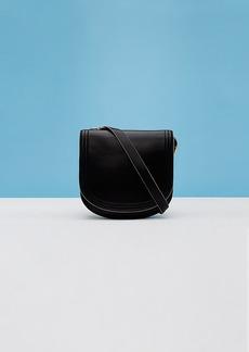 Diane Von Furstenberg Small Saddle Shoulder Handbag
