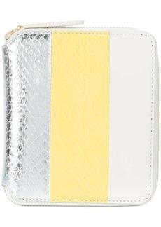 Diane Von Furstenberg snakeskin purse