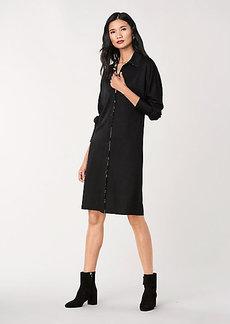 Diane Von Furstenberg Snow Wool-Jersey Shirt Dress