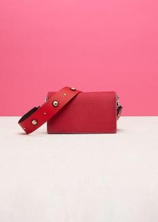 Diane Von Furstenberg Soirée Velvet Crossbody Bag