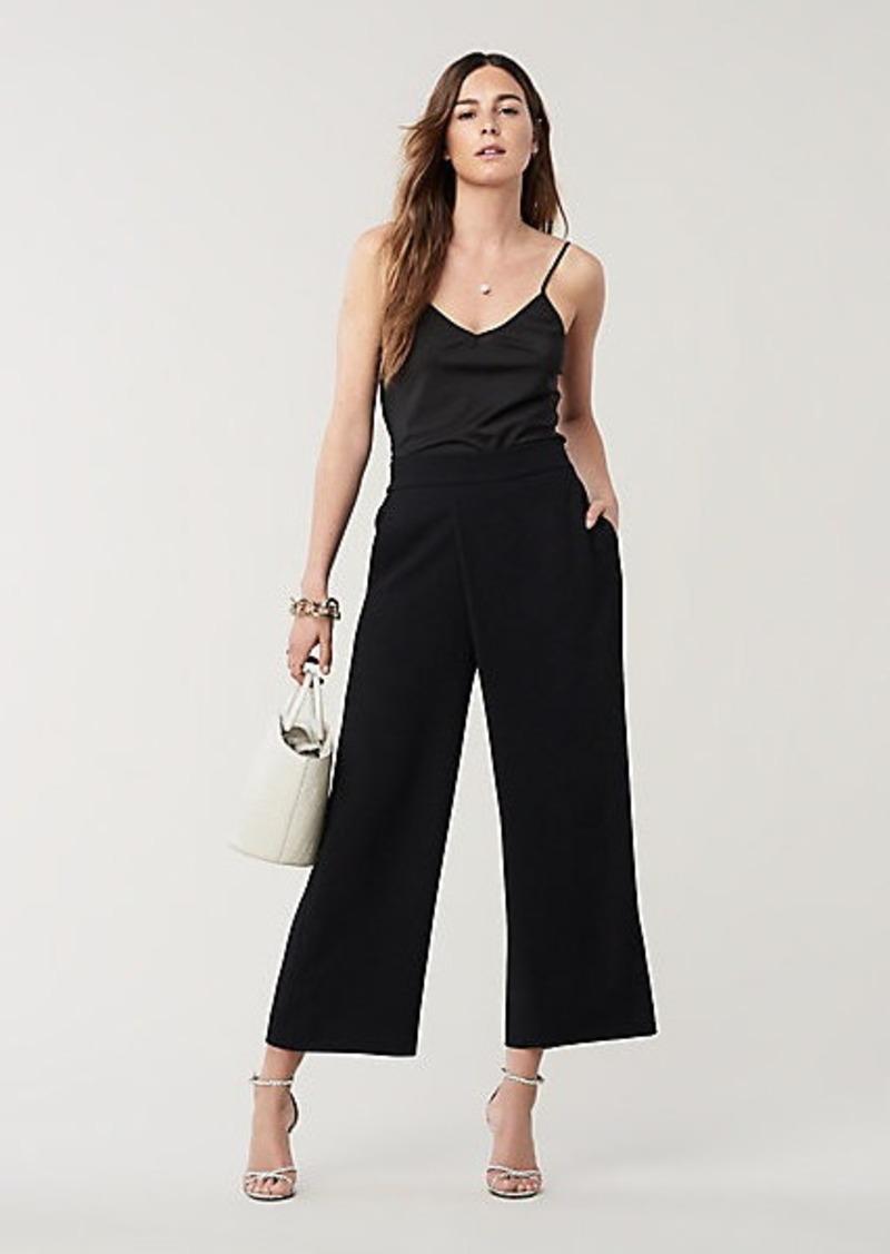 Diane Von Furstenberg Soleil Asymmetric Wide-Leg Pants