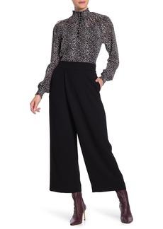 Diane Von Furstenberg Soleil Asymmetric Wide Leg Pants