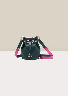 Diane Von Furstenberg Stassi Reversible Leather Mini Bucket Bag