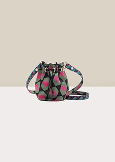 Diane Von Furstenberg Stassi Reversible Mini Bucket Bag