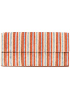 Diane Von Furstenberg striped clutch bag