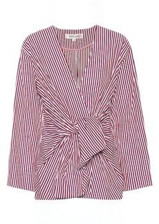 Diane Von Furstenberg Striped cotton shirt
