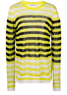 Diane Von Furstenberg striped long-sleeve top