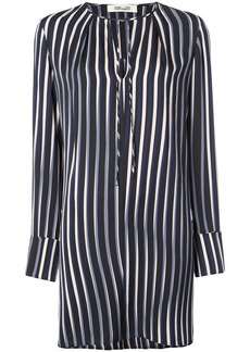 Diane Von Furstenberg striped shift dress
