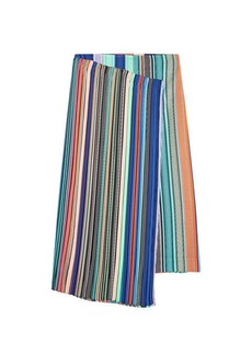 Diane Von Furstenberg Striped Skirt with silk