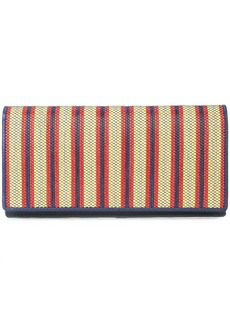 Diane Von Furstenberg striped wallet