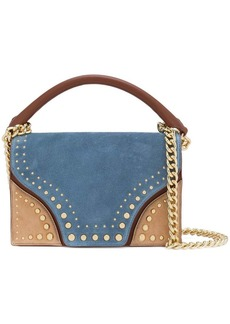 Diane Von Furstenberg studded shoulder bag