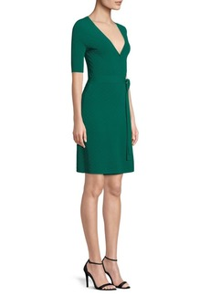 Diane Von Furstenberg Sweater Wrap Dress