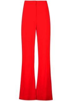 Diane Von Furstenberg tailored flared trousers