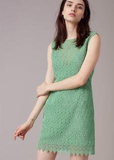 Tailored Overlay Mini Dress
