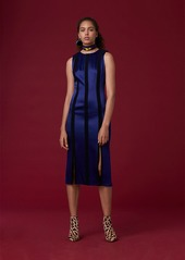 Diane Von Furstenberg Tailored Paneled Dress