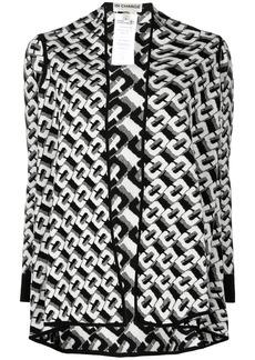Diane Von Furstenberg Taya chain-link pattern cardigan