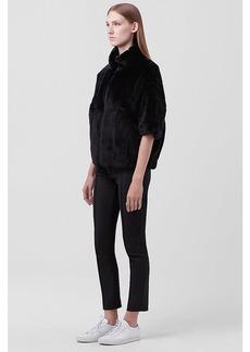 Diane Von Furstenberg Terry Evening Fur Jacket
