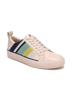 Diane Von Furstenberg Tess Striped Leather Sneakers