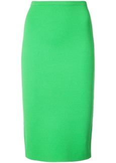 Diane Von Furstenberg textured pencil skirt
