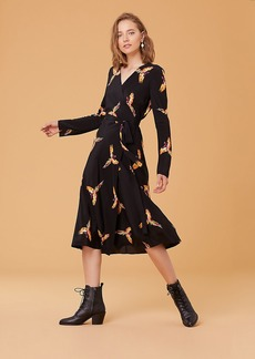 Diane Von Furstenberg Tilly Silk Wrap Dress