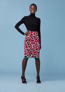 Diane Von Furstenberg The Leo Pencil Skirt