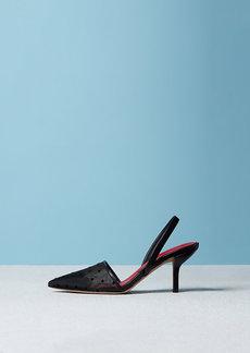 Diane Von Furstenberg The Mortelle Slingback Strap Mid-Heel