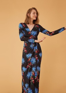 Diane Von Furstenberg The New Julian Two Long Wrap Dress