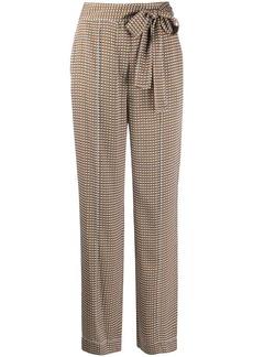 Diane Von Furstenberg tie-waist wide-leg trousers