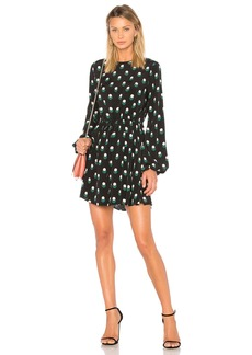 Diane Von Furstenberg Tied Mini Dress