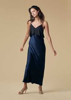 Tiered Floor Length Dress