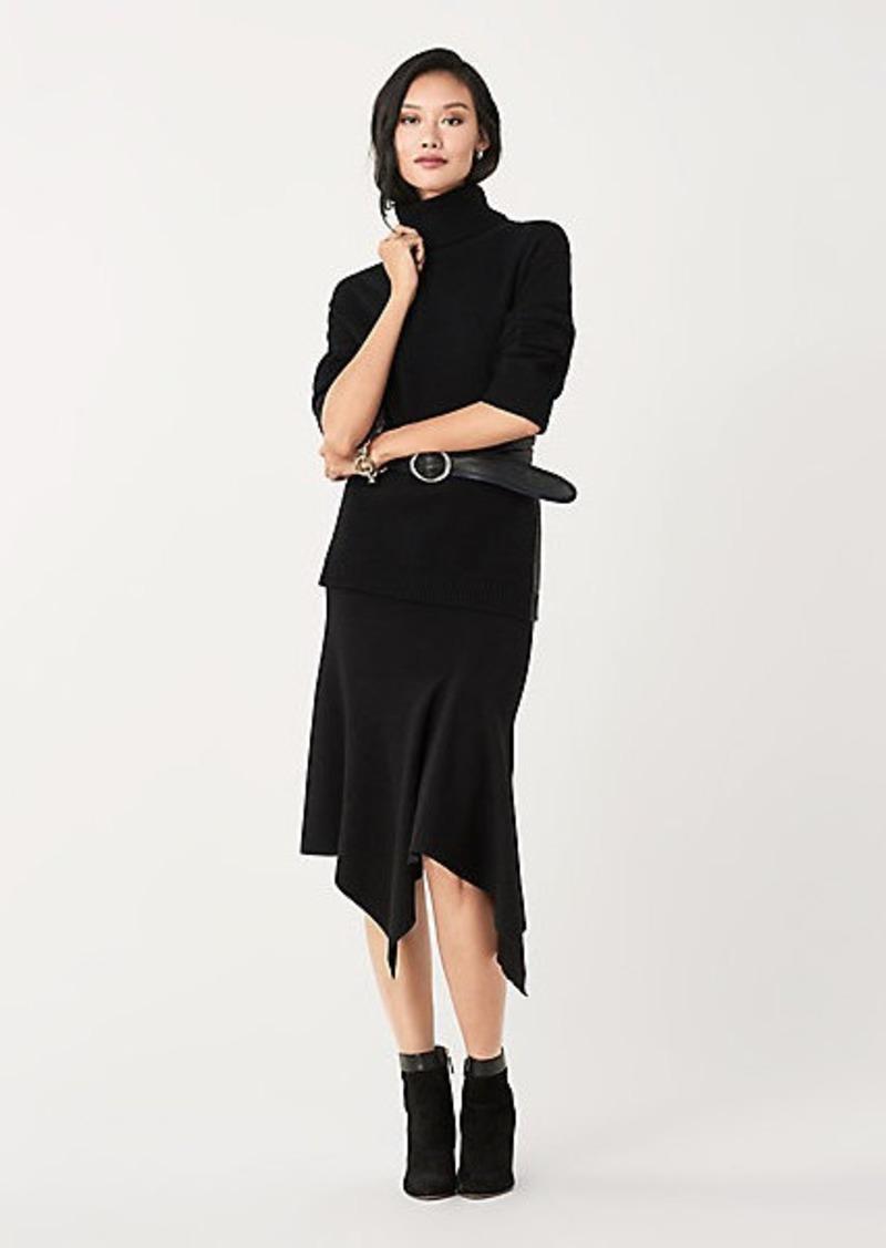 Diane Von Furstenberg Tierney Merino Wool Midi Skirt