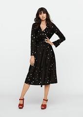 Diane Von Furstenberg Tilly Satin Midi Wrap Dress