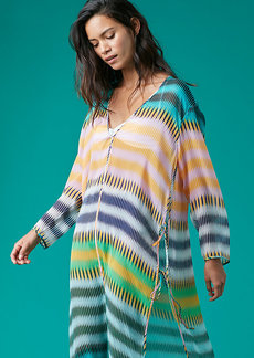 Tunic Floor-Length Cover-Up