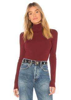 Diane Von Furstenberg Turtleneck Fitted Pullover