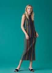 Diane Von Furstenberg Two Tiered Knit Dress