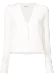 Diane Von Furstenberg v-neck blouse