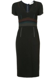 Diane Von Furstenberg V-neck tailored dress