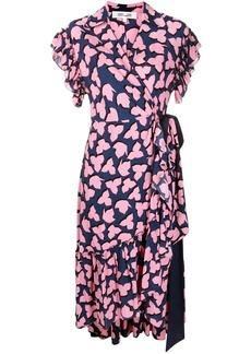 Diane Von Furstenberg V-neck wrap dress